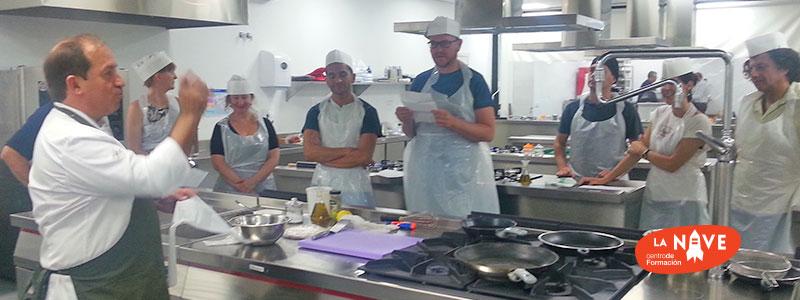 """""""Desafío en la cocina"""" con la Universidad Politécnica de Valencia"""